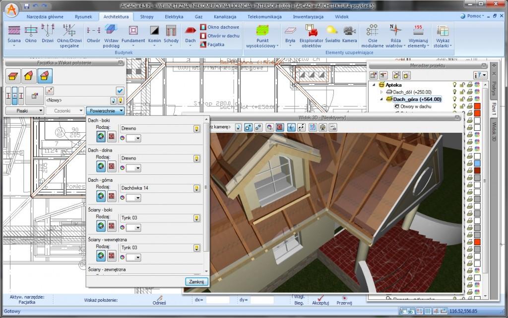 ArCADia-ARCHITEKTURA w środowisku graficznym ArCADia-START