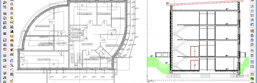 Projekt budynku w ArCADia-INTELLICAD 2009 SE